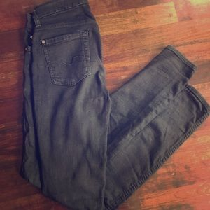 SEVEN FOR ALL MANKIND black skinny jeans!